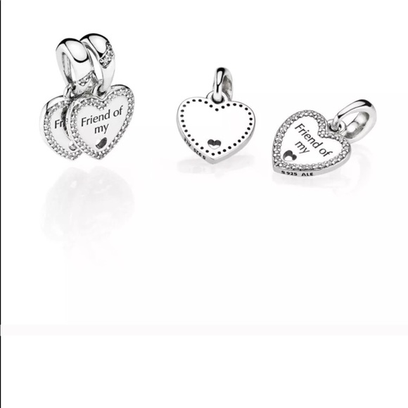 9b3d9fc95 ... cheap authentic pandora 2 charms friend of my heart cde50 4df50